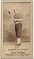 "Charles Augustus ""Kid"" Nichols, Pitcher, Omaha Omahogs- Lambs, from the Old Judge series (N172) for Old Judge Cigarettes MET DP846333.jpg"