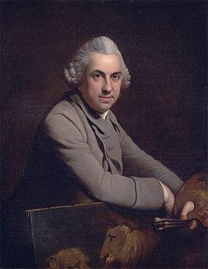 Charles Catton - Self-portrait (1769)