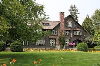 Charles E. Conrad Mansion - Image: Charles E Conrad Mansion Kalispell Montana August 2013