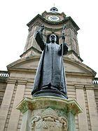 Charles Gore - Statue - St. Philip's - Birmingham - 2005-10-14