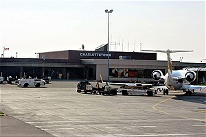 Charlottetown Airport - Air Canada Express in Charlottetown