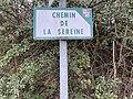 Chemin de la sereine (Beynost) - panneau.jpg