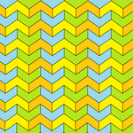 Chevron hexagonal tiling-4-color.png