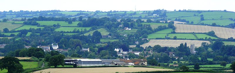 View of Chew Magna