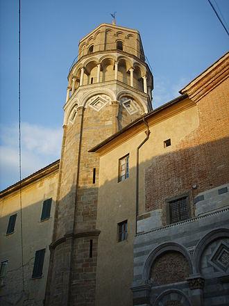 1170s in architecture - Image: Chiesa di san nicola, campanile, pisa