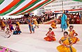 Children performing cultural programmes on the occasion of 60th Independence Day at Indian School Muscat, Oman on August 15, 2006. Earlier, the Ambassador Shri Ashok Kumar Attri unfurled the National Flag on the occasion.jpg