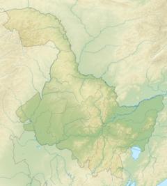 Mudanjiang is located in Heilongjiang