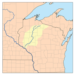 map of where missouri and mississippi rivers meet michigan