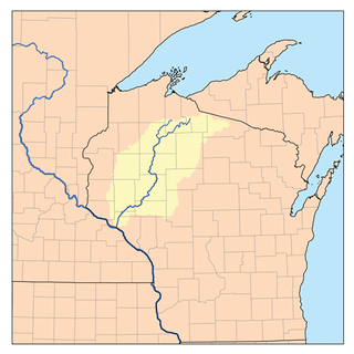Chippewa River (Wisconsin) river in Wisconsin, USA, tributary to the Mississippi