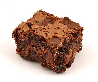 Chocolate brownie - A homemade chocolate brownie