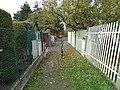 Chodovec, U nové dálnice, zúžení (01).jpg