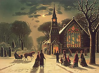 Christmas Eve Evening or entire day before Christmas Day