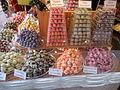 Christmas market in 2015 Deák Street. Sweets 2. - Budapest.JPG