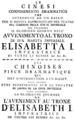 Christoph Willibald Gluck - Le cinesi - titlepage of the libretto - Saint Petersburg 1761.png