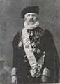 Christopher Tostrup Paus wearing the court dress of a papal chamberlain.jpg