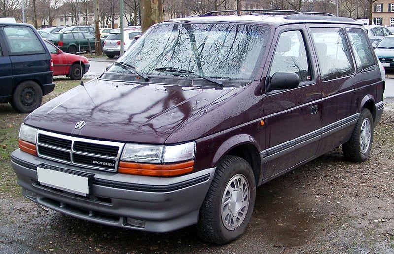 chrysler 95 800px-Chrysler_Voyager_front_20080303