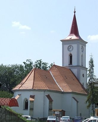 Transylvanian Plain - Image: Church in Beclean