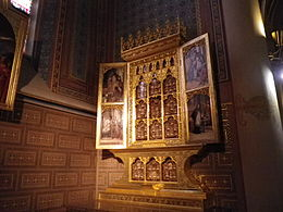 Church of Saints Peter and Paul (Vyšehrad) chapel altar MK.jpg
