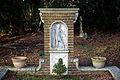 Church of St Mary Theydon Bois Essex England - churchyard grave plot brick monument.jpg