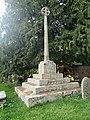 Churchyard Cross, St Peter's, Llanwenarth, Llanfoist Fawr.jpg