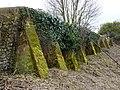 Churchyard retaining wall - geograph.org.uk - 1749388.jpg