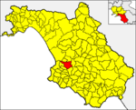 Locatio Ciceralis in provincia Salernitana