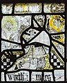 Cirencester, St John the Baptist church, medieval stained glass (45283161752).jpg