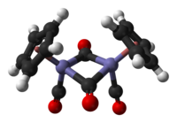 Cis-cyclopentadienyliron-dicarbonyl-dimer-from-xtal-1970-3D-balls.png