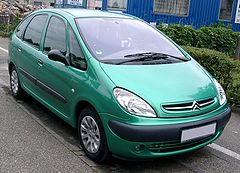 Citroën Xsara Picasso przed liftingiem