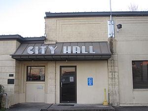 Karnes City, Texas - City Hall in Karnes City