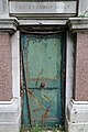 City of London Cemetery Anchor Road north side second Pedley family vault Door.jpg