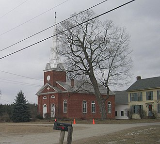 Clarendon, Vermont - Image: Clarendon Congregational Church, Clarendon, Vermont