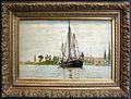 Claude monet, trabaccolo all'ancora, 1871-72.JPG
