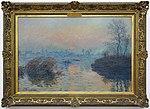 Claude monet, tramonto sull senna a lavancourt, effetto d'inverno, 1880.JPG