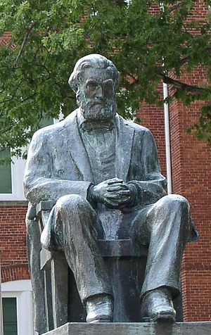 Thomas Green Clemson - Clemson's statue at Tillman Hall