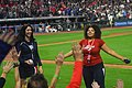 Cleveland Indians 22nd Consecutive Win (36434482404).jpg
