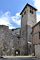 Clocher de l'église abbatiale Saint-Pierre de Marcilhac-sur-Célé.jpg