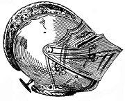 Close Helm (Burgundian) of Ferdinand I of Czechia & Hungary (1530) by Wendelin Boeheim