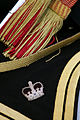 Close up detail of the the livery surrounding an Army horse saddle MOD 45148592.jpg