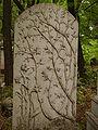 Cmentarz Zydowski Warszawa Grob Romany Orgelbrand.JPG