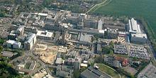 Cmglee Cambridge luchtfoto Addenbrookes.jpg