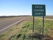 Coahoma County, MS sign 001.jpg