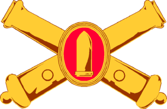 Fort Miley Military Reservation - Image: Coast Artilliary Insignia