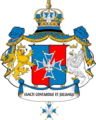 Coat of Arms Ordine dei Santi Contardo e Giuliano Ospitaliere.png