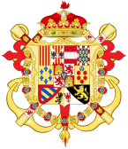Coat of Arms of Antonio Pascual, Infante of Spain.svg
