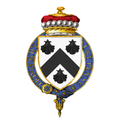 Coat of Arms of Charles Lyttelton, 10th Viscount Cobham, KG, GCMG, GCVO, TD, PC, DL.png