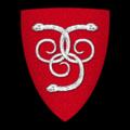 Coat of Arms of EDNOWAIN ap BRADWEN, Lord of Llys-Bradwen, Merionethshire.png