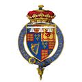 Coat of arms of James, Duke of York, KG.png