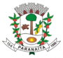 Coat of arms of Paranaíta MT.png