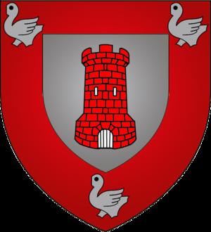 Tandel - Image: Coat of arms tandel luxbrg